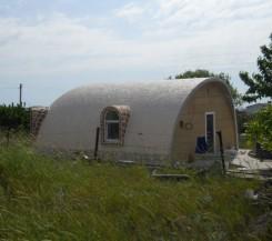 Продам купольный дом с участком 4,2 сотки на Фиоленте