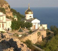 Дача с недостроем на Фиоленте, район Георгиевского монастыря, 8,5 соток